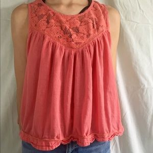 Coral Flowy Sleeveless top from World Market